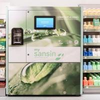 dm és a Sansin első csomagolásmentes automatája Magyarországon
